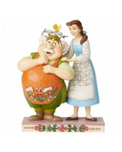 Devoted Daughter (Belle and Maurice Figurine)6002806 by Disney Enesco