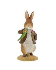 Beatrix Potter Benjamin Ate a Leaf Figurine | A30110