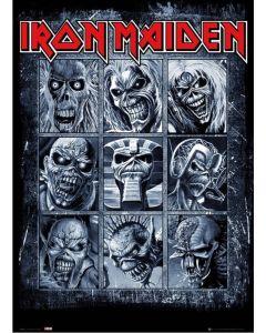 Iron Maiden Eddies Maxi Poster by GB Eye LP2048