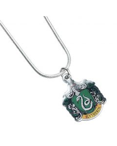 Harry Potter Slytherin Crest Necklace by The Carat Shop WN0023
