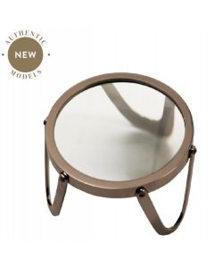 """Authentic Models Desk Magnifier 4"""" Brass AC043"""