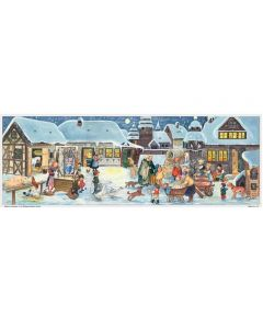 Richard Sellmer Panoramic Traditional Advent Calendar Christmas at the Farm 214