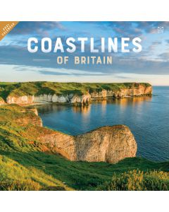 Coastlines of Britain 2021 Wall Calendar by Carousel Calendars 210039