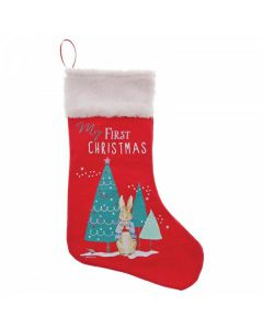 Peter Rabbit My First Christmas Stocking by Enesco A29914