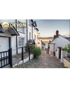 Devon 2022 A4 Calendar from Carousel Calendars 220002