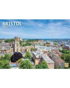 Bristol 2022 A4 Calendar from Carousel Calendars 220020
