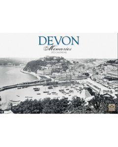 Devon Memories 2022 A4 Calendar from Carousel Calendars 220047