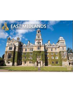 East Midlands 2022 A4 Calendar from Carousel Calendars 220056