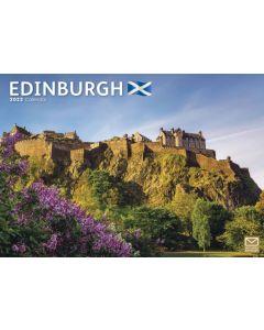 Edinburgh A4 Calendar 2022 by Carousel Calendars 220059