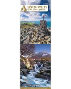 North Wales Slim Calendar 2022 by Carousel Calendars 220108