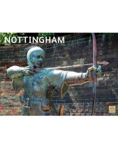 Nottingham 2022 A4 Calendar from Carousel Calendars 220136