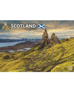 Scotland 2022 A4 Calendar from Carousel Calendars 220147
