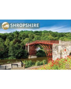 Shropshire 2022 A4 Calendar from Carousel Calendars 220155