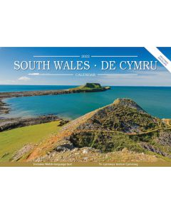 South Wales De Cymru 2022 A5 Calendar by Carousel Calendars 220169