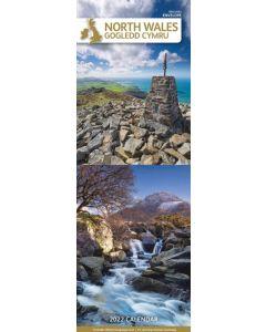North Wales Gogledd Cymru 2022 Slim Calendar by Carousel Calendars 220180