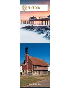 Suffolk Slim Calendar 2022 by Carousel Calendars 220189