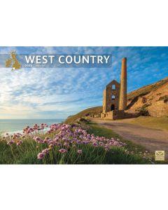 West Country 2022 A4 Calendar from Carousel Calendars 220192