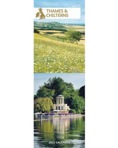 Thames and Chilterns Slim Calendar 2022 by Carousel Calendars 220206