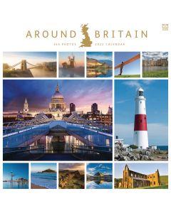 Around Britain 2022 Wiro Wall Calendar from Carousel Calendars 220220