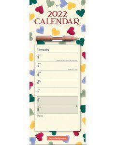 The Emma Bridgewater, Polka Hearts Magnetic Slim Calendar 2022 by Carousel Calendars 220269