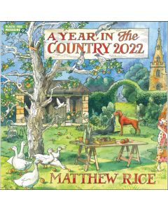 A Year in the Country: Matthew Rice Calendar 2022 by Carousel Calendars 220329