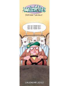 Wrinklies Slim Calendar 2022 by Carousel Calendars 220400