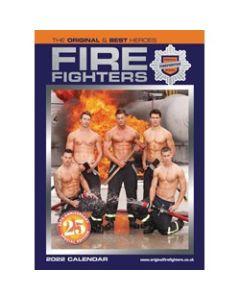 Firefighters Calendar 2022 by Carousel Calendars 220499 A3 size