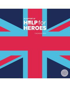 Help For Heroes 2022 week-to-view Family Organiser by Carousel Calendars 220610