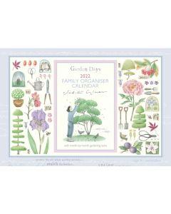 Judith Glover, Garden Days A4 Family Planner 2022 by Carousel Calendars 220612