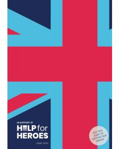 Help For Heroes A5 Diary 2022 by Carousel Calendars 220622