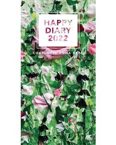 Pollyanna Pickering, Garden Birds Slim Diary 2022 by Carousel Calendars 220635