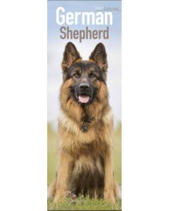 German Shepherd Slim Calendar 2022 by Avonside Publishing 220740