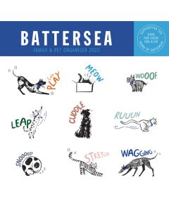 Battersea Dogs and Cats Home Wall Calendar 2022 by Carousel Calendars 220877