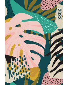 Tropical Print A5 Diary 2022 by Carousel Calendars 220971