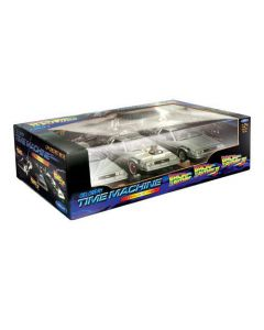 Back to the Future Trilogy Set 1:24 Scale by Welly 224003G