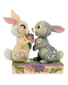 Bunny Bouquet (Thumper and Blossom Figurine)6005963 by Disney Enesco