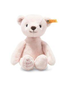 Steiff My First Steiff Teddy Bear Pink Plush Soft Cuddly Friends 26cm 242045