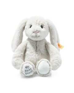 Steiff My First Steiff Hoppie Rabbit Cream Plush Soft Cuddly Friends 26cm 242076