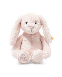 Steiff My First Steiff Hoppie Rabbit Pink Plush Soft Cuddly Friends 26cm 242106