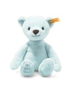 Steiff My First Steiff Teddy Bear Blue Plush Soft Cuddly Friends 26cm 242144
