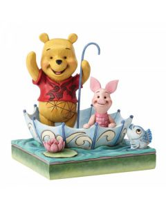 50 Years of Friendship: Winnie the Pooh and Piglet Figurine4054279
