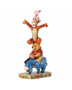 Built By Friendship: Eeyore, Pooh, Tigger and Piglet Figurine4055413