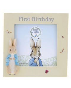 Peter Rabbit First Birthday PhotoFrame by Enesco A29827