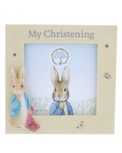 Peter Rabbit Christening PhotoFrame by Enesco A29829