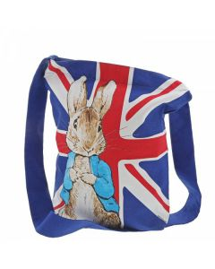 Peter Rabbit Union Jack ToteBag by Enesco A30131