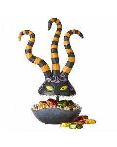 Harlequin Demon Candy Dish Figurine6002838 by Disney Enesco