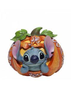 Stitch O'Lantern. Stitch in a Pumpkin Figurine.6007080 by Disney Enesco
