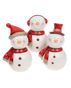 Shudehill Giftware Cheery Snowman Large by Joe Davies 292172A-C