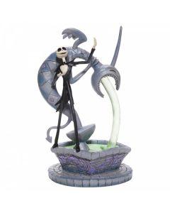 Soulful Soliloquy: Jack Skellington on Fountain Figurine6007075 by Disney Enesco