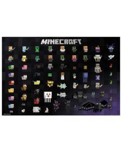 Minecraft Pixel Sprites Maxi Poster by GB Eye.